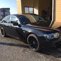BMW745i 車高調整サスペンション取り付け  千葉